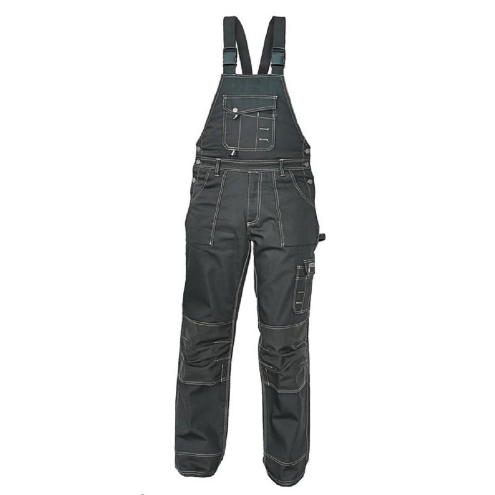 Montérkové kalhoty NARELLAN pánské s laclem černá DOPRODEJ 9794b6fdd5