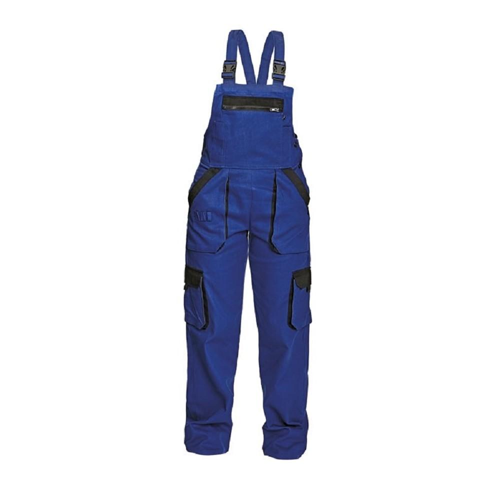 Montérkové kalhoty MAX LADY dámské s laclem 100% bavlna 260g m2 modro černé bf4eddabd0