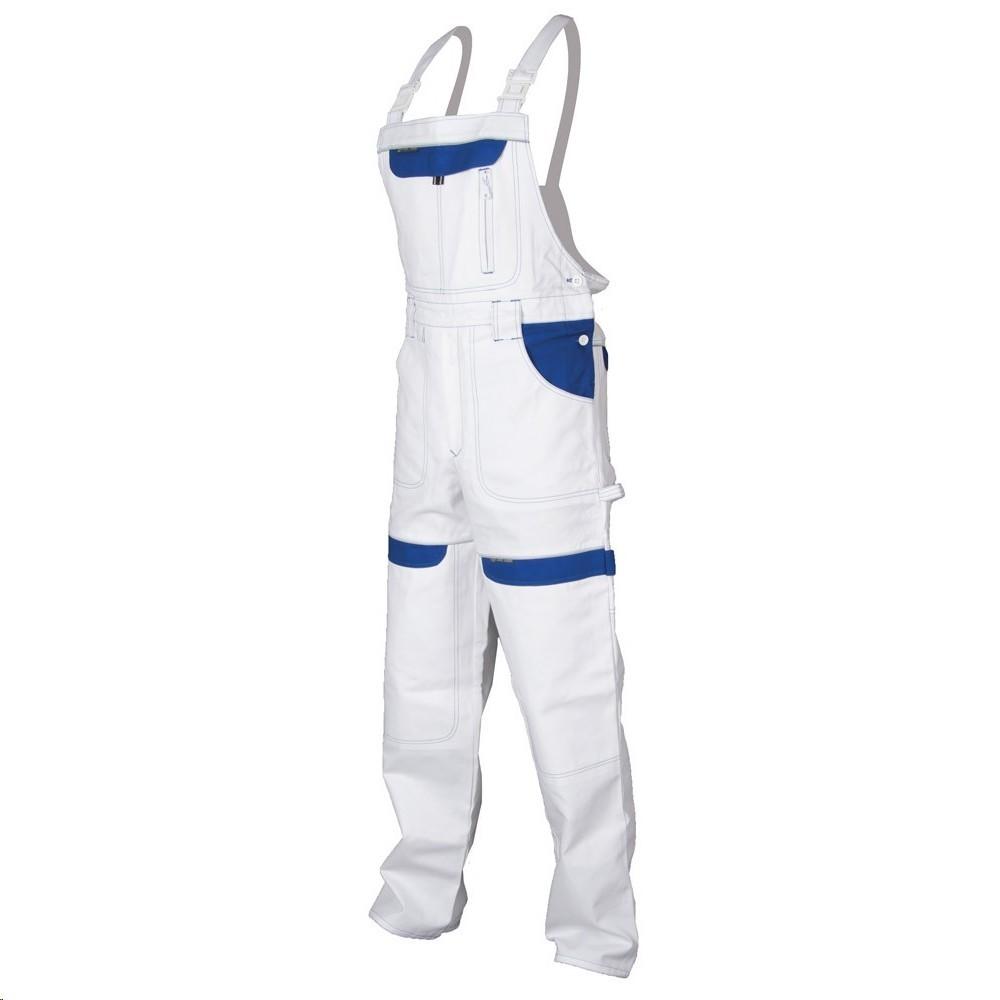 Montérkové kalhoty COOL TREND H8400 s laclem bílo-modré - Kalhoty s ... 1131b213e4