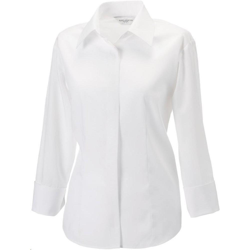Košile dámská business s 3 4 rukávem 100% Bavlna Tencel 1fa0b22f96