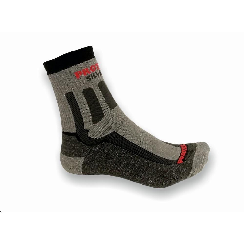 2a72b7d5a2e Ponožky PROTEC šedo-černé