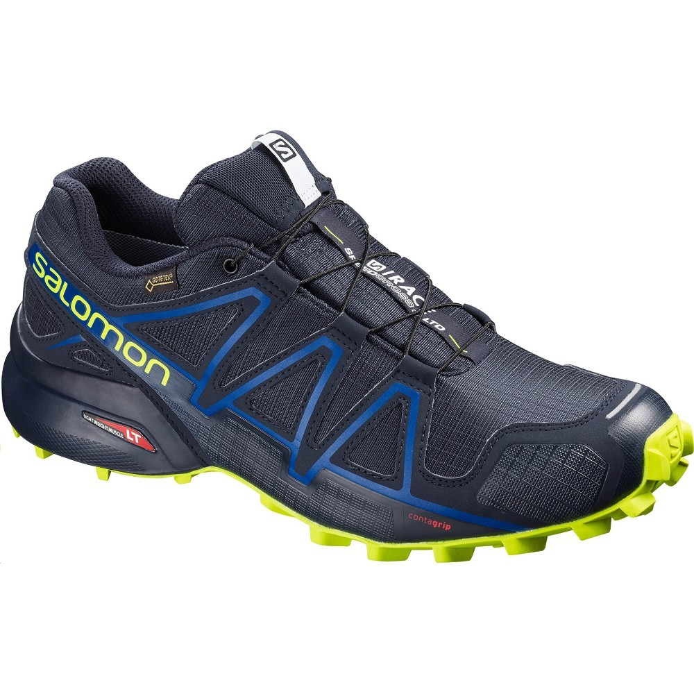 b2302848eca Obuv SALOMON SPEEDCROSS 4 GTX S RACE LTD Navy - Nízká