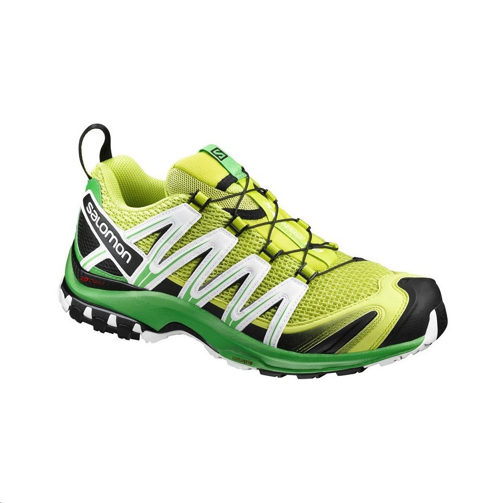 c345d74d2 Obuv SALOMON XA PRO 3D M pánská outdoorová bota lime punch./classic  green/white