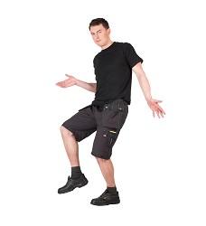 Kalhoty krátké, OLZA, 97%bavlna, 3% Spandex, 265g/m2, šedé,DOPRODEJ!!!