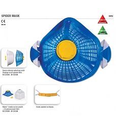 Maska FFP2, SPIDER MASK P2, 1 kus masky+ 20kusů jednorázových filtrů vyměnitelných
