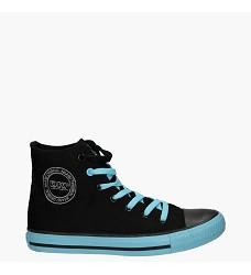 Dámská sportovní obuv DK, černo/modrá