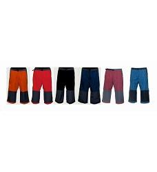 Kalhoty ALPIN 3/4 pánské s kapsou v zádu 35% bavlna + 65% polyester mix barev