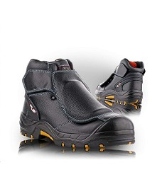 Kotníková obuv REYKJAVIK 2480-S3 pracovní a bezpečnostní s ochranou nártu, celokožená