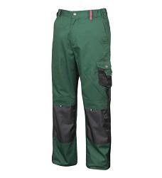 Montérkové kalhoty pasové PRE100 H9501, zelená/černá