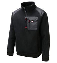 Mikina LEE COOPER LC04 H9903 pánská fleecová černá