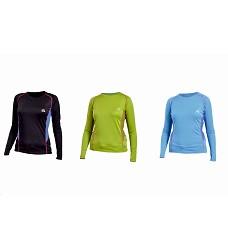 Tričko JIZERA NORTHFINDER TR-4181PRO dámské černé | modré | zelené