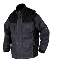 Bunda PRE100, H9506 pánská zateplená s odnímatelnou kapucí