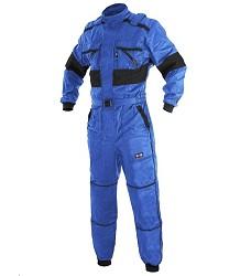 Kombinéza zimní CXS LUXY ALASKA 1055-VV, zdvojená kolena, 260g/m2 modro/černá