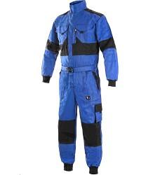 Kombinéza CXS LUXY ROBERT, modro-černá, pánská, zdvojená kolena, 1060-VV