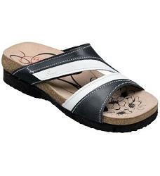 Pantofle dámské SANTÉ 520/7 černá
