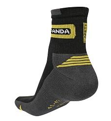 Ponožky WASAT PANDA, černé, 80% bavlna, 5% elastan, 15% polyamid