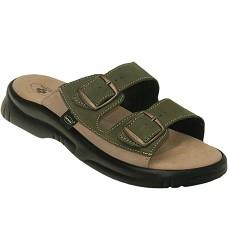 Pantofle pánské SANTÉ 517/36 zelené