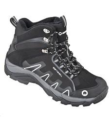Kotníčková obuv QUEST G1310 zimní softshellová černá