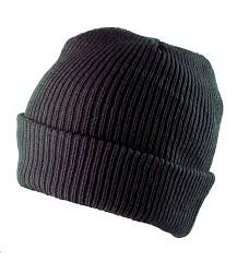 Čepice pletená CARL H6017 černá