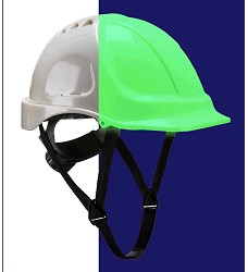Přilba pracovní ENDURANCE GLOWTEX PG54 fotoluminiscenční