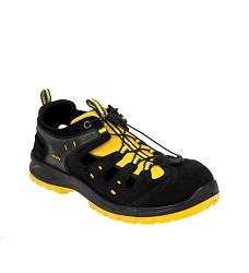 Obuv BNN BOMBIS LITE S1 bezpečnostní sandál s kompozitní tužinkou žlutá