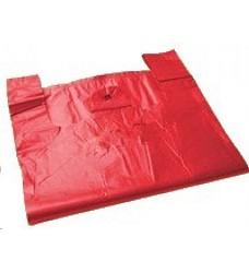 Taška zesílená mikrotenová 300x170x540mm červená 14mi