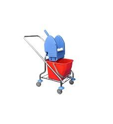 Úklidový vozík REKORD 210051K 1x17l ždímač bez košíků EAST