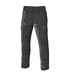 Kalhoty HARVEY NO-3196OR NORTHFINDER pánské černé, šedé