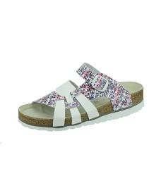 Pantofle PEON PE/140 dámské bílo/růžové
