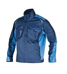 Montérková bunda R8ED H9708 navy-modrá prodloužená 194 cm