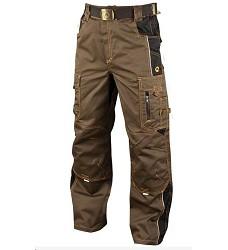 Montérkové kalhoty VISION H9117 pasové tarmac khaki 170 cm