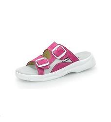Pantofle PEON PE/17-4RK dámské růžové