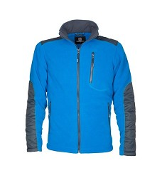 Mikina 4TECH H9421 fleecová modrá
