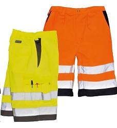 Kraťasy Hi-Vis E043 PORTWEST reflexní oranžové