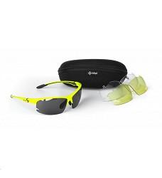 Brýle MORI-U KILPI sluneční outdoorové černé červené bílé žluté