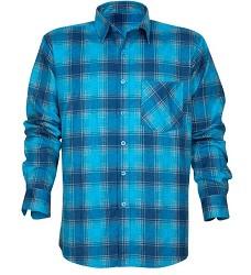 Flanelová košile URBAN H20088 modrá