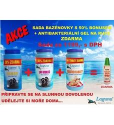 Sada bazénové chemie LAGUNA + gel