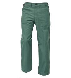 Montétkové kalhoty UWE BE-01-007 do pasu zelené 100%bavlna 240g/m2 FF