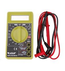 Multimetr digitální (U, I, R) s akustikou Extol Craft 600011