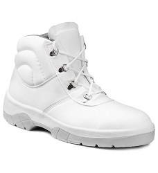 M-FIBRE DELTA 02 kotníčková pracovní obuv bílá bez ocelové špice