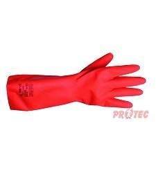 Rukavice nitrilovéSOLVEX Premium, A37-900,červené, 38cm