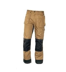 Montérkové kalhoty pánské pas NARELLAN,320g/m2, DuPont,303811, béžovo-černé