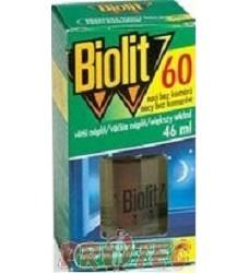 BIOLIT tekutá náplň do strojku proti komárům 46 ml= 60nocí