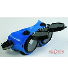 brýle svářecí ARTILUX WELD, kruhový zorník třídy F, tmavost 4