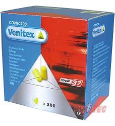 Zátkový chránič sluchu CONIC 200JA Venitex 200 jednotlivě balené DELTA PLUS