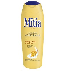 MITIA sprchový gel 400ml /12 honey & milk 8676