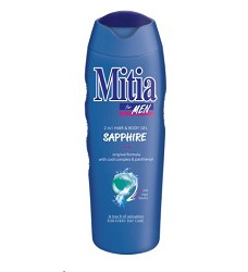 MITIA sprchový gel 2v1 for men 400ml /12 sapphire 8673