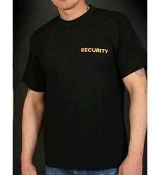 Triko SECURITY krátký rukáv 190g/m2 černé