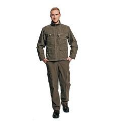 Kalhoty  pánské pas bavlněné UKARI 100% bavlna, 280g/m, khaki