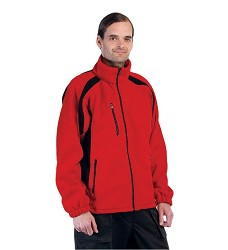 Fleece bunda TENREC, bez podšívky, dlouhý zip, dvoubarevná